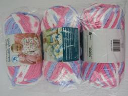 BERNAT Baby Blanket  - Pink/Blue