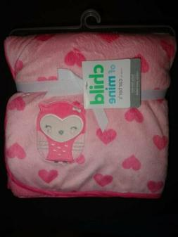 Child of Mine Baby Blanket-Pink Owl