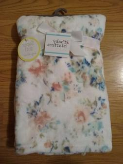 Baby Starters Baby Blanket Set Flowers Floral Lovey Soft NEW