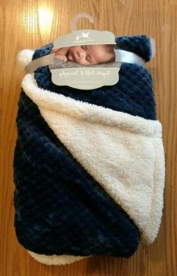 ADIRONDACK Baby Blanket Sherpa Soft Snuggly Infant Lovey Tod
