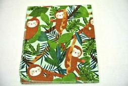 Baby Blanket Sloths in Trees Can Be Personalized 36x40