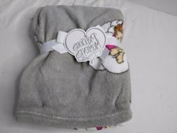 """Precious Moments Baby Blanket Soft and Comfy Fleece 30"""" x 40"""