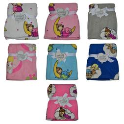 Precious Moments Baby Blanket Soft and Comfy Fleece Throw 30