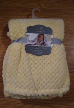 ADIRONDACK Baby Blanket Soft and Shimmery Yellow Infant Love