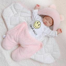 Baby Blanket Swaddle Cotton Soft Wrap Newborn Sleepping Bags