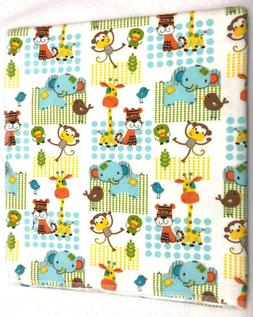 Baby Blanket Tigers Giraffes Elephants Monkeys Can Be Person