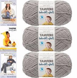 Bernat Baby Blanket Tiny 3 Pack 100 Percent Polyester Gauge