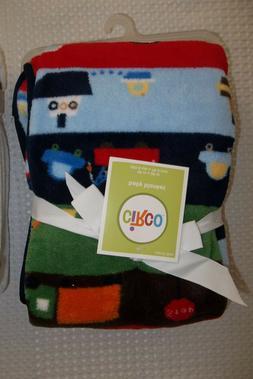 Circo Baby Blanket transportation Fleece Security Lovey NEW