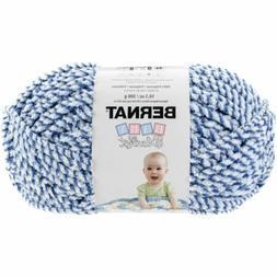 Baby Blanket Twists Big Ball Yarn-Blue