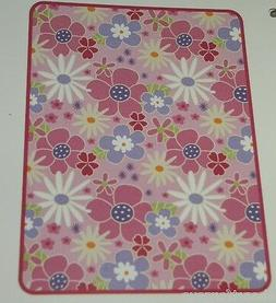 BEANSPROUT BABY BLANKET WILDFLOWER HIGH PILE NEW FLOWERS SOF