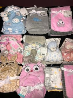Baby blanket with neck support + baby items and gift sets