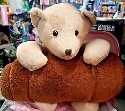 Baby Blanket with Teddy Bear kids Children Toddler Toy Beddi