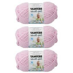 Bernat Baby Blanket Yarn  Gauge 6 Super Bulky - 3 Pack