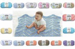 Bernat Baby Blanket Yarn, 3.5 oz, Gauge 6 Super Bulky Baby Y