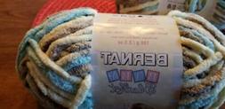 Bernat  Baby Blanket Yarn - 6 Super Bulky Gauge  - 3.5oz -