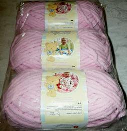 Bernat  Baby Blanket Yarn -  Super Bulky Gauge  - 3.5oz -  P