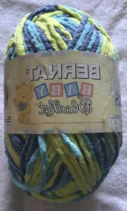 Bernat Baby Blanket Yarn, 10.5 Ounce, Handsome Guy, Single B