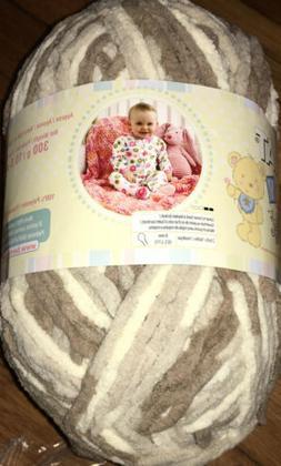 Bernat Baby Blanket Yarn, 10.5 Ounce, Sandcastles, Single Ba