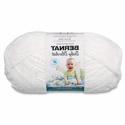 Bernat Baby Blanket Yarn, 10.5 Ounce, White, Single Ball, Ne