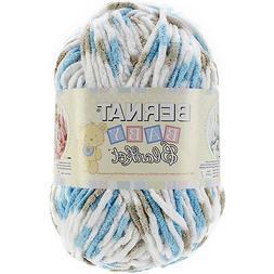 Bernat Baby Blanket Yarn, 10.5 Ounce, Little Teal Dove, Sing