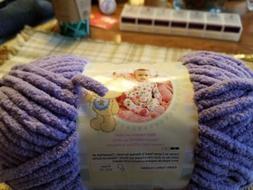 Bernat Baby Blanket Yarn  LILAC 100% Polyester #6 SuperBulky