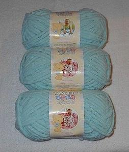 Bernat Baby Blanket Yarn Lot Of 3 Skeins  3.5 oz.