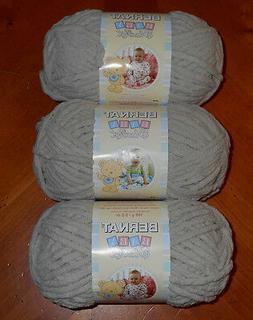 Bernat Baby Blanket Yarn Lot Of 3 Skeins  3.5 oz Skeins