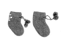 100% Cashmere Baby Bootees Socks, 4 PLY Mongolian Cashmere 2