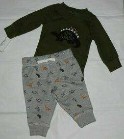 Baby boy clothes, 3 months, Carter's 2 piece set/New Arrival
