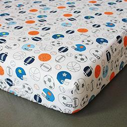 New Baby Boy Crib Bedding Fitted Sheet