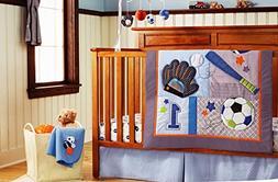 Baby 11pcs Sport Crib Bedding Set