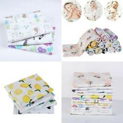 baby boy girls muslin cotton wrap swaddling