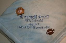 Baby boy or girl Monogrammed Personalized Blanket- Shower Gi