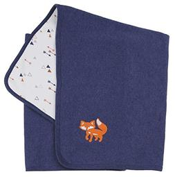 Asher and Olivia Baby Boys' Receiving Blankets Reversible Ar