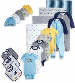 Gerber Baby Boys' 19-Piece Essentials Gift Set