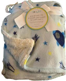 LOLLYPOP Baby boys Blanket Sherpa Mink PlusReverse