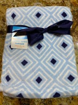 LUVABLE FRIENDS BABY BOYS CORAL FLEECE BLANKET BABY SHOWER
