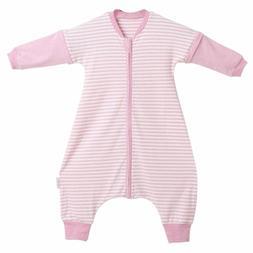 LETTAS Baby Girls Detachable Sleeves 0.5 Tog Cotton Sleeping