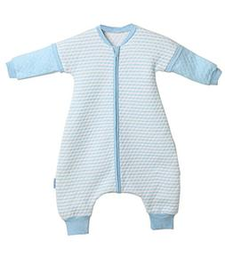 LETTAS Baby Boys and Girls Quilted Cotton Stripe Detachable