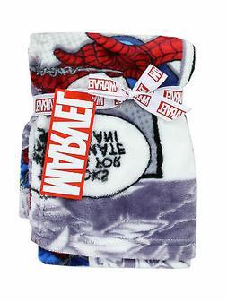 "Baby Boys Spider-Man Soft Fleece Throw Blanket 30/"" x 30/"""