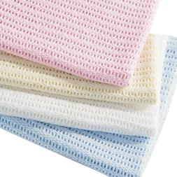 HomeLabels Baby Care 100% Cotton Swaddle Blanket - Waffle We