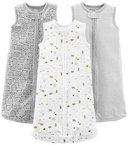 Simple Joys by Carter's Baby 3-Pack Cotton Sleeveless Sleepb