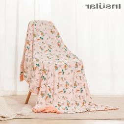 Baby Cotton Soft Flannel Blanket Newborn Swaddle Wrap Beddin