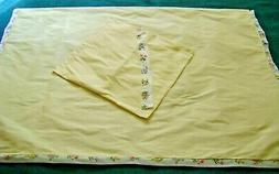 Baby Crib Cotton Blend Blanket Bedspread with Pillow Case Se