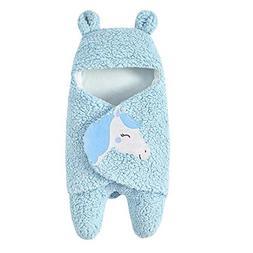 Hatoys Baby Cute Receiving Blanket,Sleeping Bag Blanket,Cart