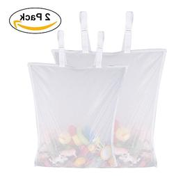 Korotus Baby Diaper Organizer Capacity Clothes Toys Mesh Han