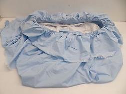 Baby Doll Paradise Rainbow Bassinet Bedding Set -- Blue