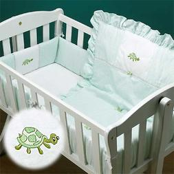 Fairy Tale Baby Doll Bedding Gingham Mini Crib//Port-a-Crib Bedding Set