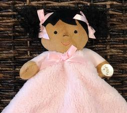 Blankets and Beyond Baby Doll Girl Soft Pink Ethnic Security