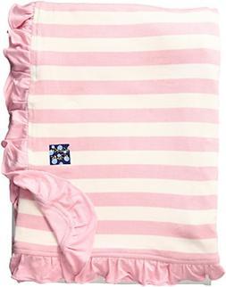 Kickee Pants Baby Essentials Print Ruffle Stroller Blanket,